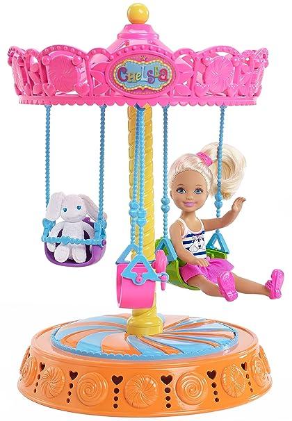 Barbie Chelsea Vueltas De Carrusel Amazon Com Mx Juegos Y Juguetes