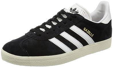 buy great prices many fashionable Adidas Gazelle, core black/vintage white/gold metallic ...