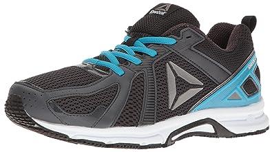 Reebok Men's Runner MT Running Shoe, Lead/Caribbean Teal/Black/White/