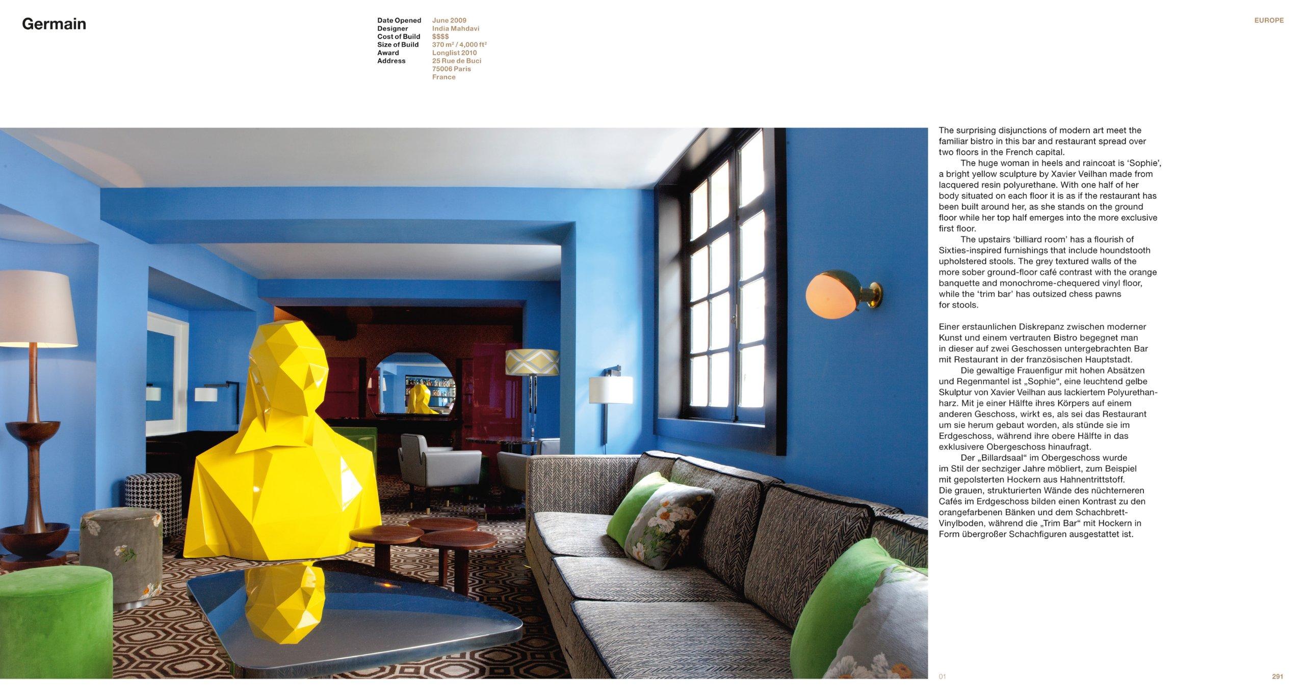 amazoncom restaurant bar design 9783836546683 julius wiedemann marco rebora books - Blue Restaurant Design