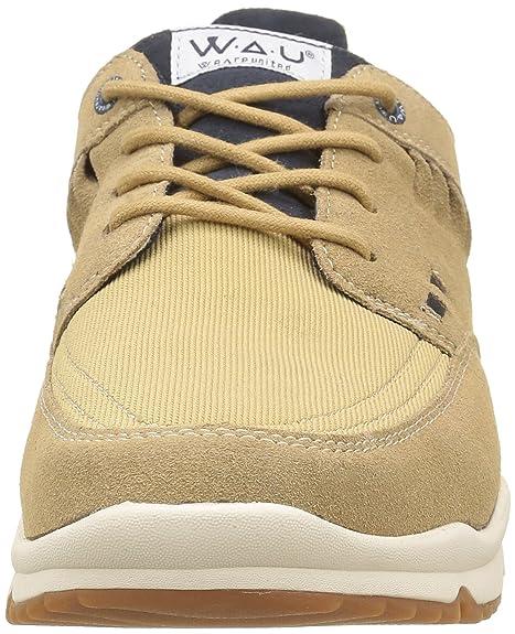 WAU WC96079 - Baskets - Homme - Beige (Sand) - 45 EU, 10 UK