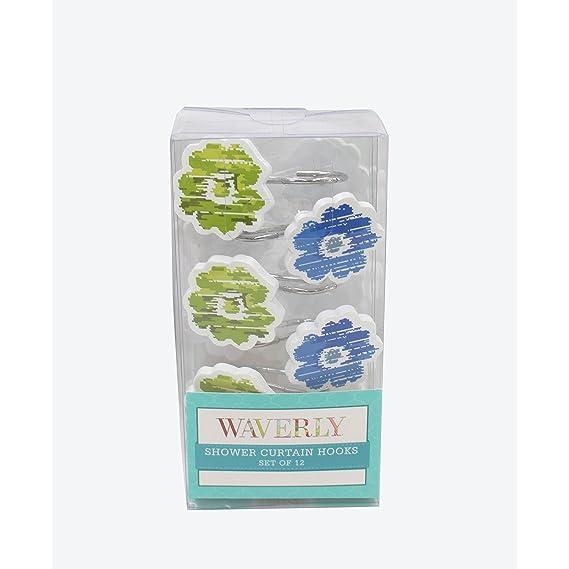 Amazon Waverly Refresh Shower Curtain Home Kitchen
