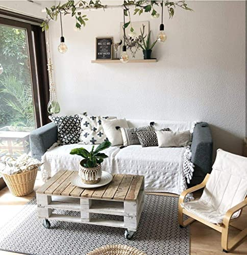 Mesa de centro de Palets de madera estilo Rustico & Vintage para Salon & Jardin, terraza, DIY - Estilo rustico, nórdico, escandinavo, retro - Mesas Originales & Mesita Auxiliar & Centro pallets: