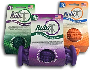 Due North Foot Rubz Massage Ultimate Combo Pack, 0.85 lb