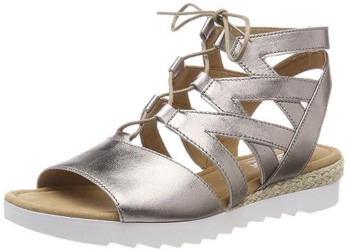 Gabor Shoes Comfort Sport, Zapatos de Tacón para Mujer, Multicolor (Mutaro), 42.5 EU
