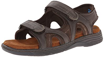 Nunn Bush Randall Two-Strap Sandal 0Qx53Xr6Q