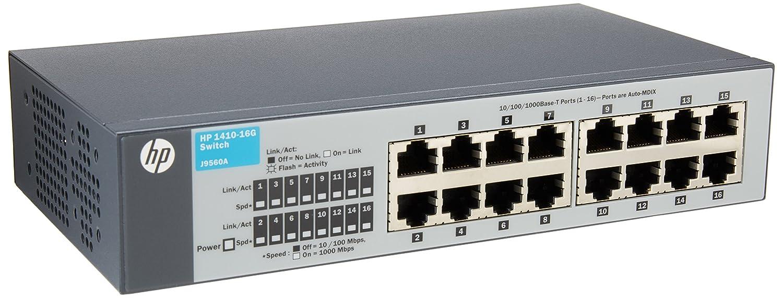 HP J9560A 1410-16G SWITCH 10 100 1000 IN