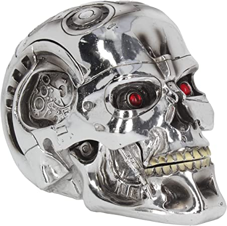 Nemesis Now T-Terminator - Caja (18 cm), Color Plateado: Amazon.es: Hogar
