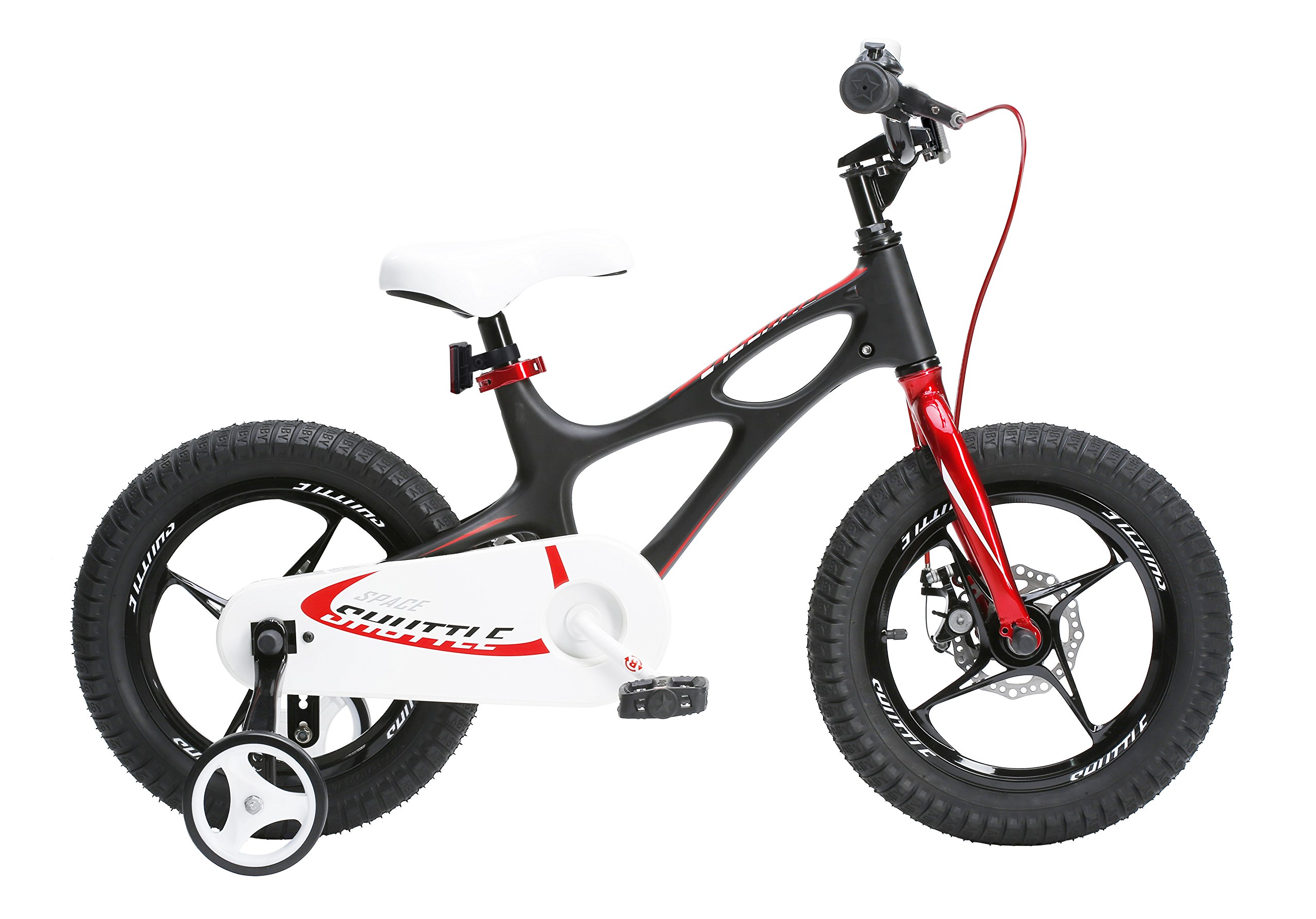 Royalbaby RB16-22K newly-launched Space Shuttle kids bike, lightweight magnesium frame bike for boys and girls, 14 inch or 16 inch bike with Magnesium training wheels for age 3-6 by Royalbaby
