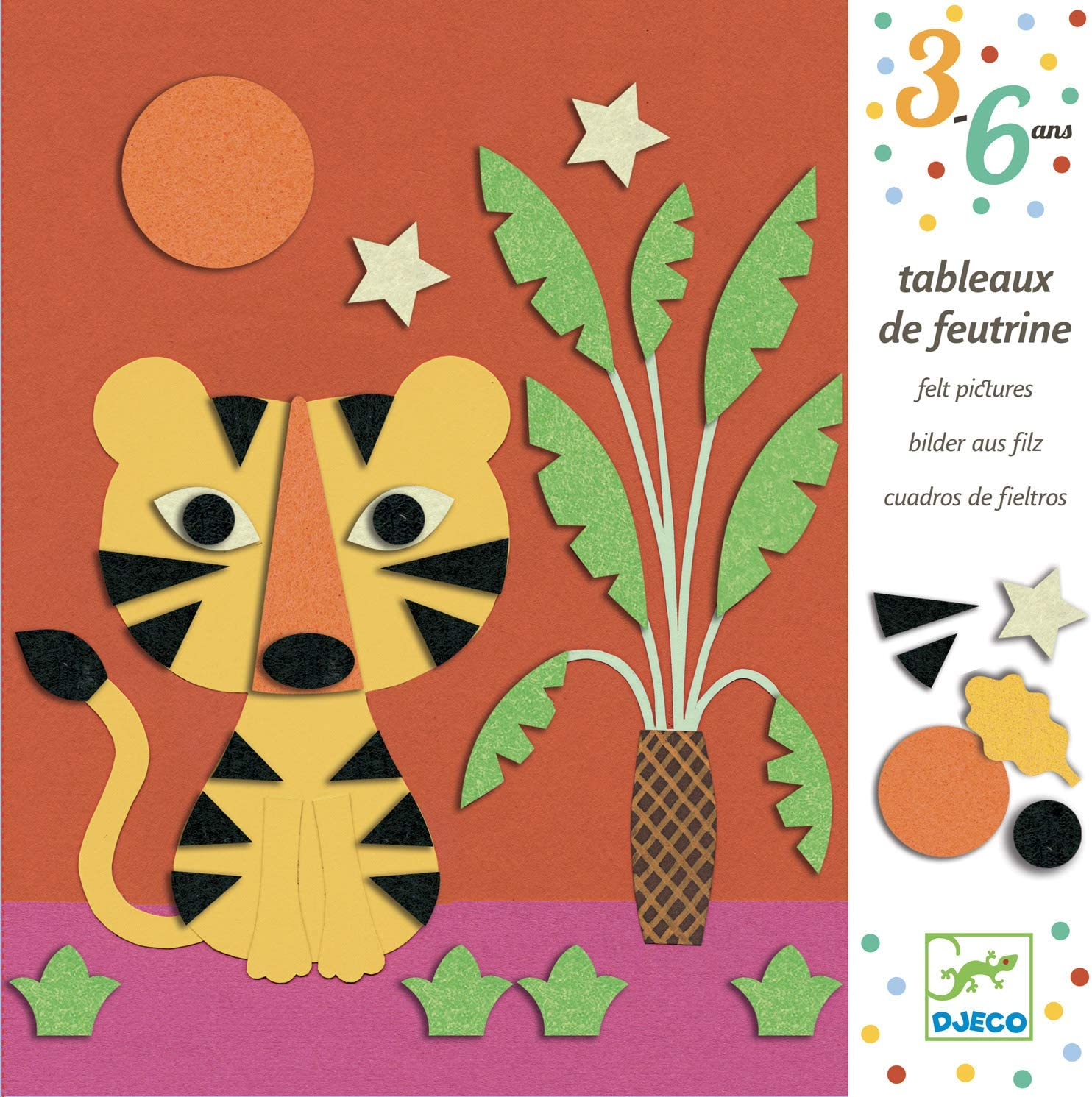 DJECO Sweet Nature Collage Paper Craft Kit