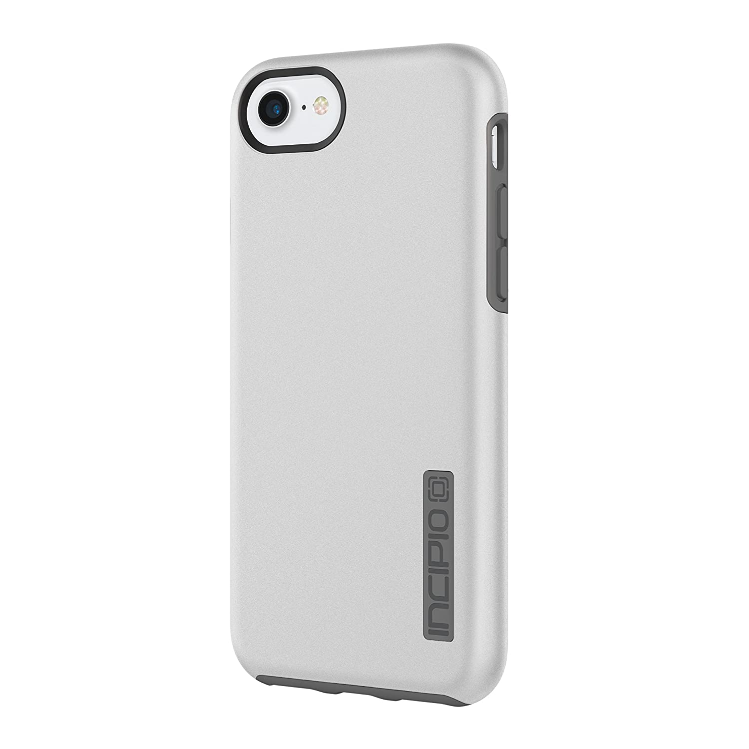 save off 85cd5 64f4f iPhone 7 Case, Incipio [Hard Shell] [Dual Layer] DualPro Case for iPhone  7-Iridescent Silver/Charcoal
