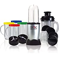 NutriBullet MBR-2102 Magic Bullet 21-Piece High Speed Blender/Mixer System, Silver, Silver