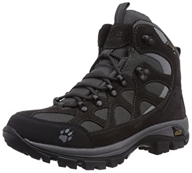 87bbf75c803 Jack Wolfskin All Terrain Texapore Women, Womens Trekking and Hiking Shoes,  Black, 4.5