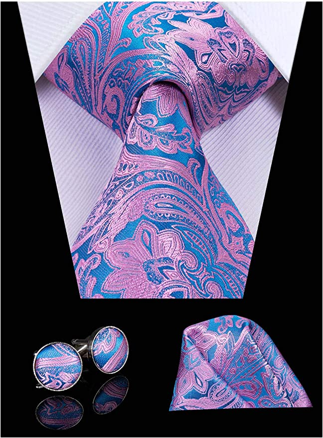 Hi-Tie - Corbata - para hombre Morado Mens Tie a Talla única ...