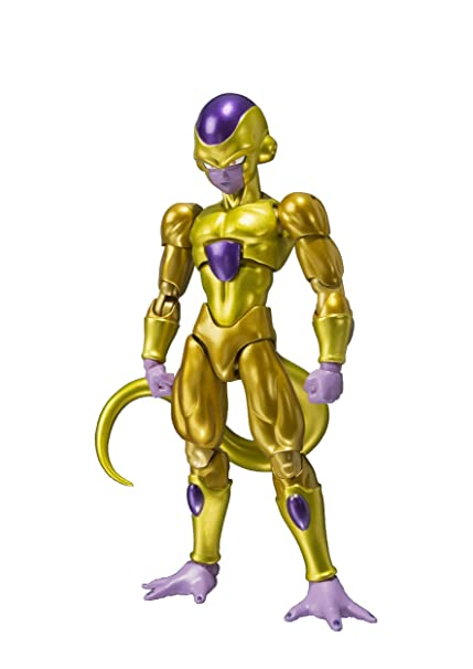 Bandai Tamashii Nations Shfiguarts Golden Frieza Dragon Ball Z Resurrection F Action Figure