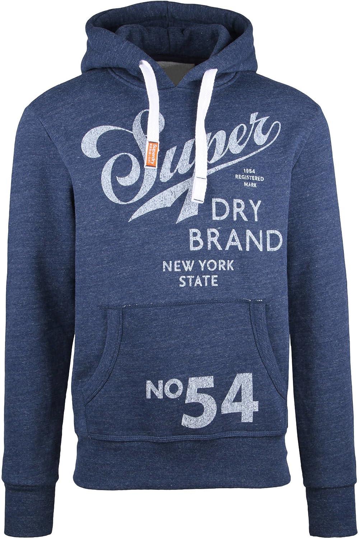 Superdry Dry Brand Hood Sweat Shirt À Capuche Sport Homme
