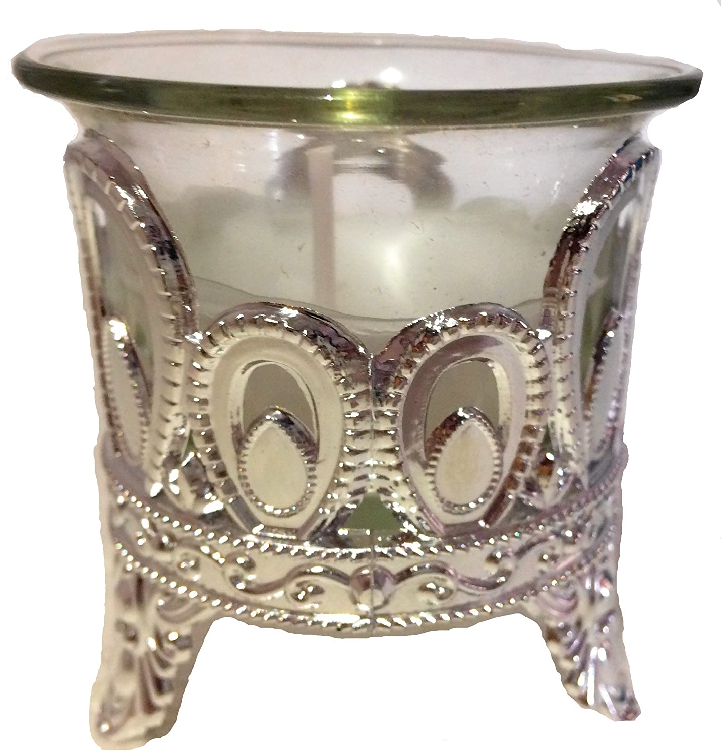 Designer Decorative Glass Diya Candle Kinari Bazaar