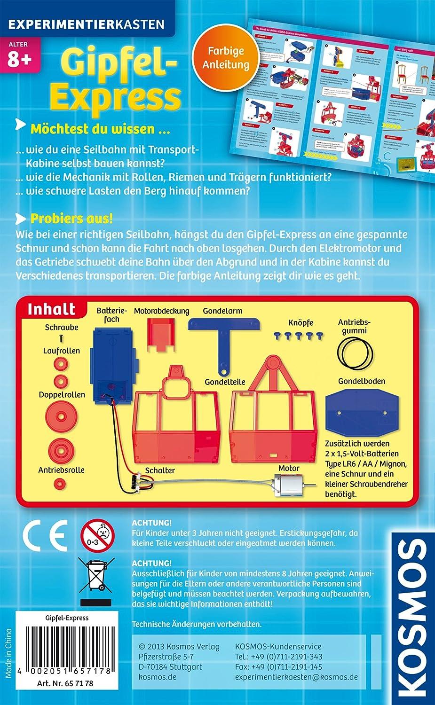 Kosmos 606121 set di esperimenti per barbie lernen for Costruisci la tua cucina