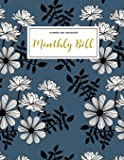 Monthly Bill Planner and Organizer: Finance Monthly & Weekly Budget Planner Expense Tracker Bill Organizer Journal Notebook - Budget Planning - Budget ... -Personal Business Money Workbook: Volume 1