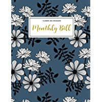 Monthly Bill Planner and Organizer: Finance Monthly & Weekly Budget Planner Expense Tracker Bill Organizer Journal Notebook   Budget Planning     Budget Worksheets  Personal Business Money Workbook