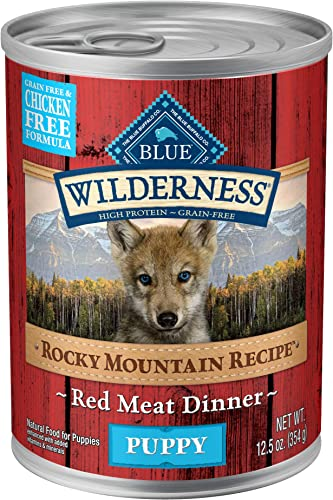 Blue Buffalo Wilderness High Protein Grain Free Natural Puppy Wet Dog Food