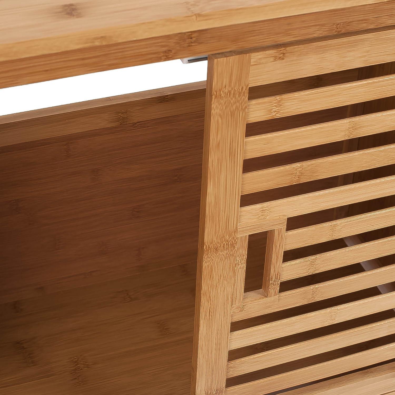 Mueble Bajo Lavabo En Bambu Sunrise 66x29x61cm Bamb Amazon Es  # Muebles Bambu Bano