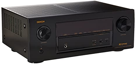 Denon AVR-X2300W 7 2 Channel Full 4K Ultra HD AV Receiver with Bluetooth