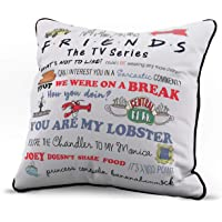 Jay Franco Friends Quotable Decorative Throw Pillow Cover