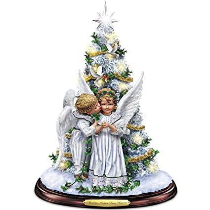 Image result for from heaven came the angels around the christmas tree