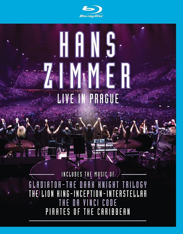 Amazon.com: Hans Zimmer: Live in Prague [Blu-ray]: Hans Zimmer ...