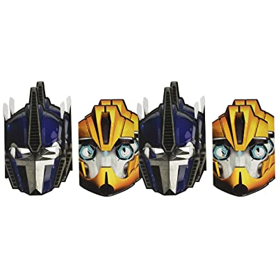 Transformers Paper Masks (8 Pack): Toys & Games