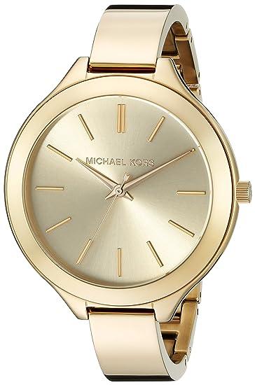 Michael Kors Reloj analogico para Mujer de Cuarzo con Correa en Acero Inoxidable MK3275: Michael Kors: Amazon.es: Relojes
