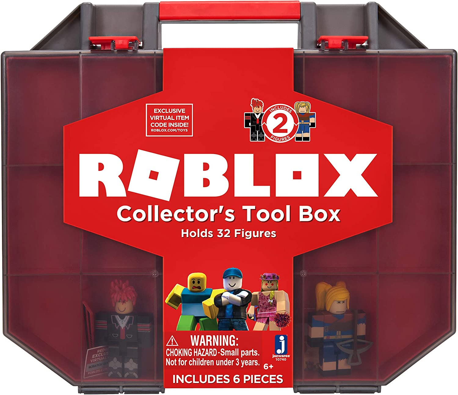 Amazon Com Roblox Action Collection Collector S Tool Box And