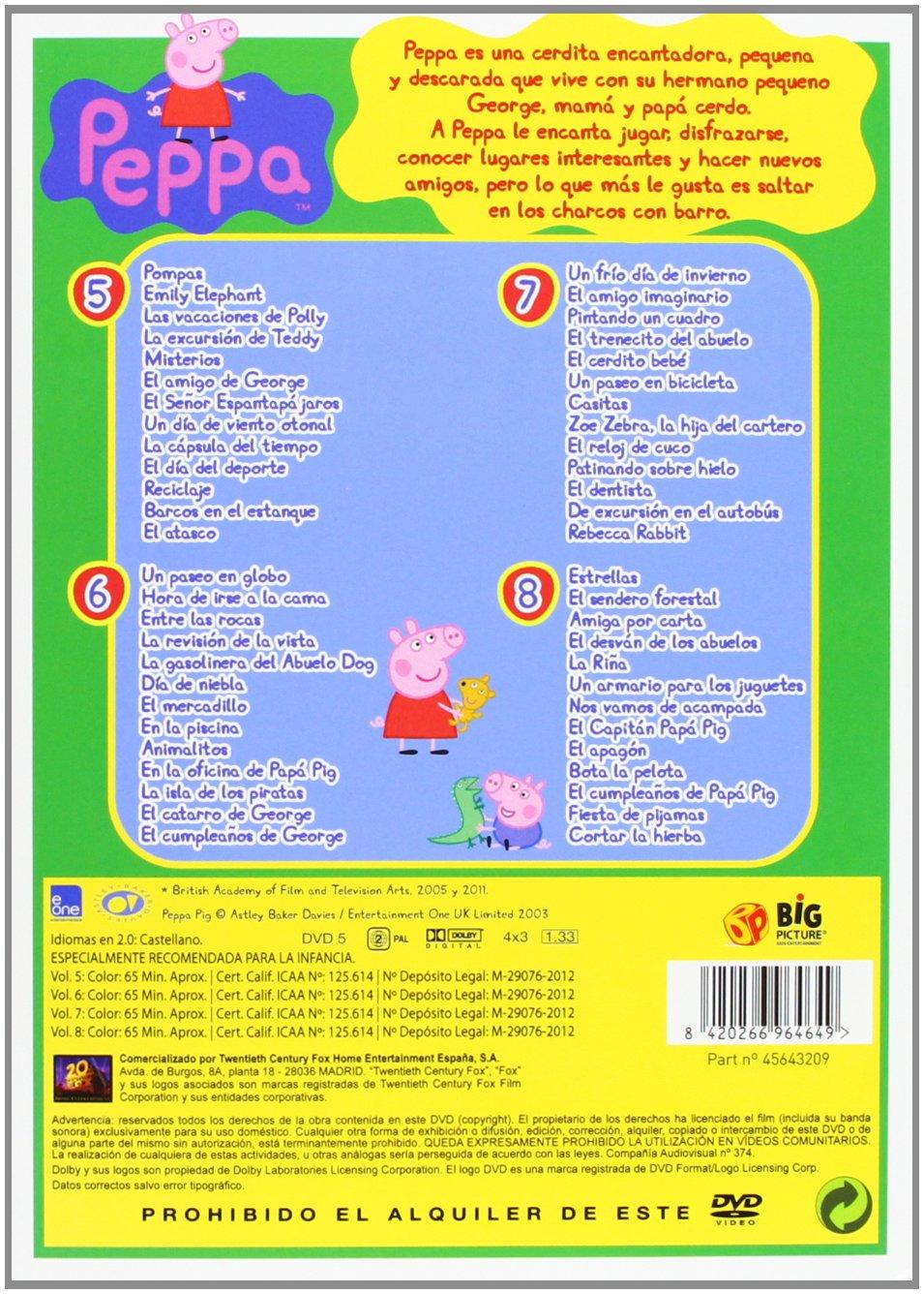 Peppa Pig - Temporada 2 [DVD]: Amazon.es: Dibujos Animados, Neville Astley, Mark Baker, Julian Nott: Cine y Series TV