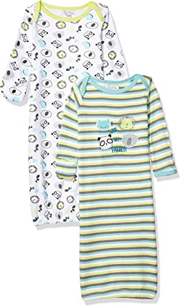 Quiltex Girls Toddler Purrrfect Sleeper Gowns 2 Pack Set QNG93654