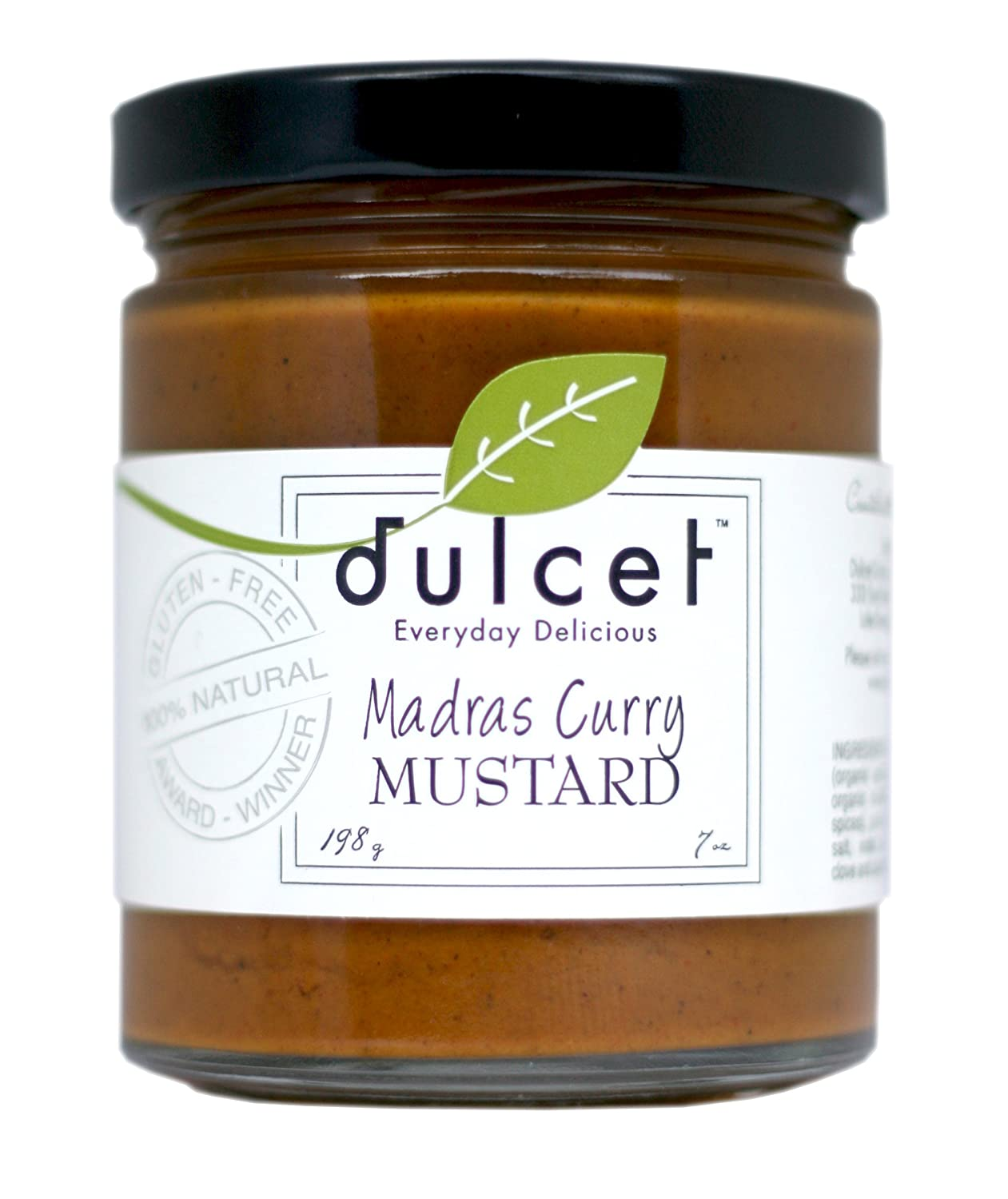 Amazon.com : Dulcet Madras Curry Mustard 7 oz : Mustard Condiment ...