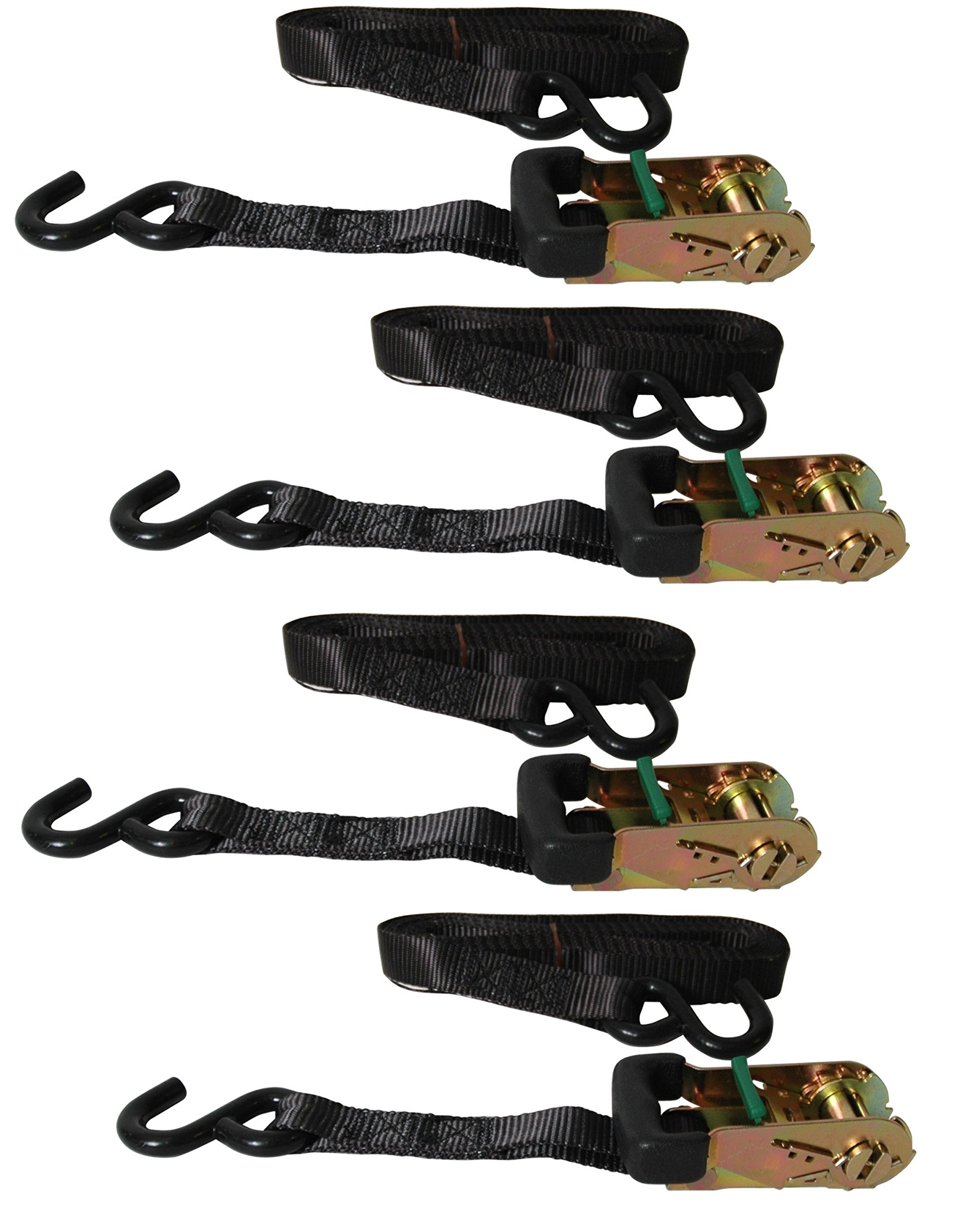 Reese Secure 9425200 14' Heavy Duty Ratchet with Grip Handle, 4 pack