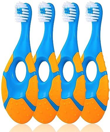 Amazon.com: Farber - Cepillo de dientes para bebés de 0 a 2 ...