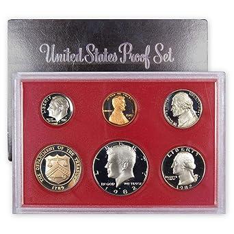 US Mint 1994 Proof Set Package NO Coins. Lens /& Certificate Box
