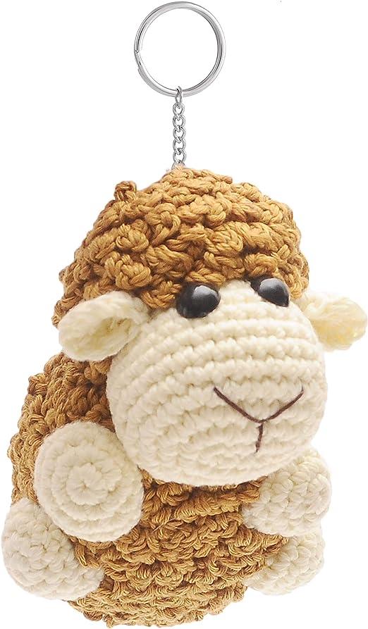 Ravelry: Amigurumi Sheep keychain pattern by Yunies Handmade   893x522