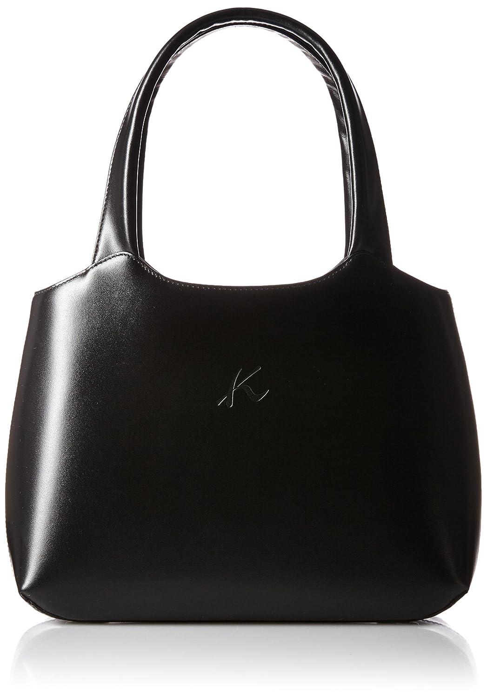 [キタムラ] ハンドバッグ 袱紗付き Y-0959 B01AR8X6DWブラック [黒] 15151