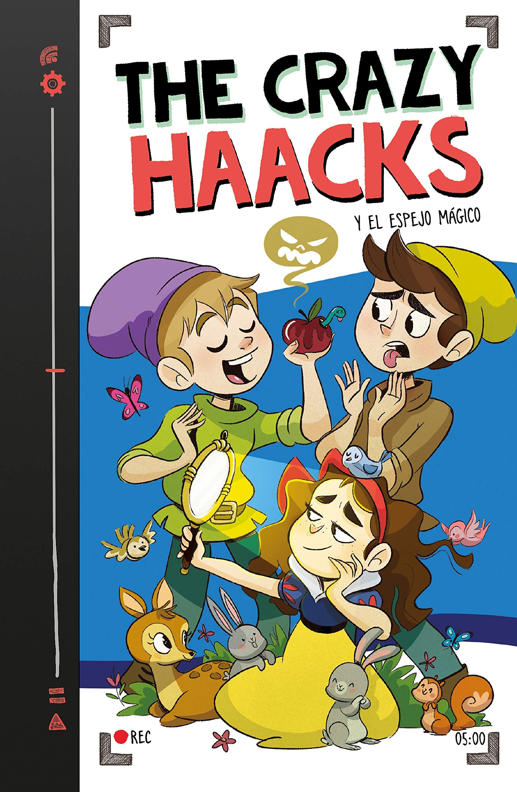 The Crazy Haacks y el espejo mágico (Serie The Crazy Haacks 5) por The Crazy Haacks