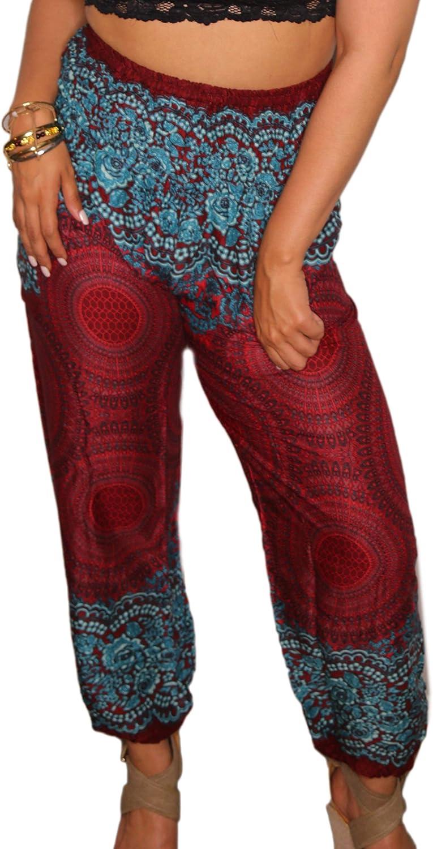 Fun Yoga Harem Hippie Beach Lounge Bohemian Pajamas IshDeena Comfortable Women Pants