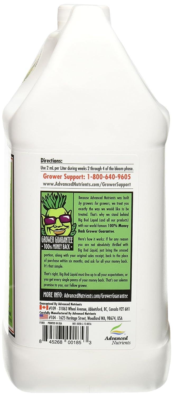 Amazon Advanced Nutrients Big Bud Liquid Fertilizer 4l
