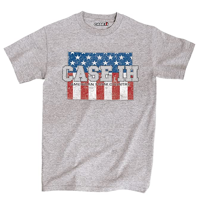 Amazon.com: CASE IH Country Patriotic CO Adult Short Sleeve TEE: Clothing