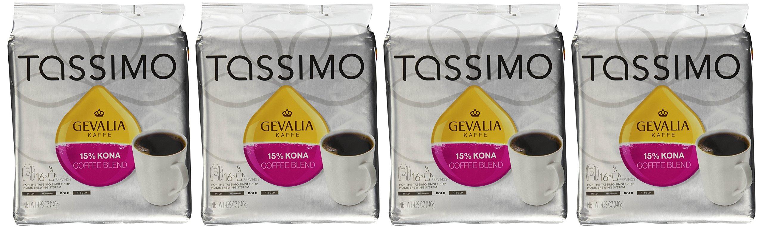 Gevalia Kaffe 15% Kona Blend Coffee (Pack of 4) by Gevalia