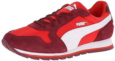 PUMA Men's ST Runner NL Sneaker,High Risk Red/Zinfandel/White,9