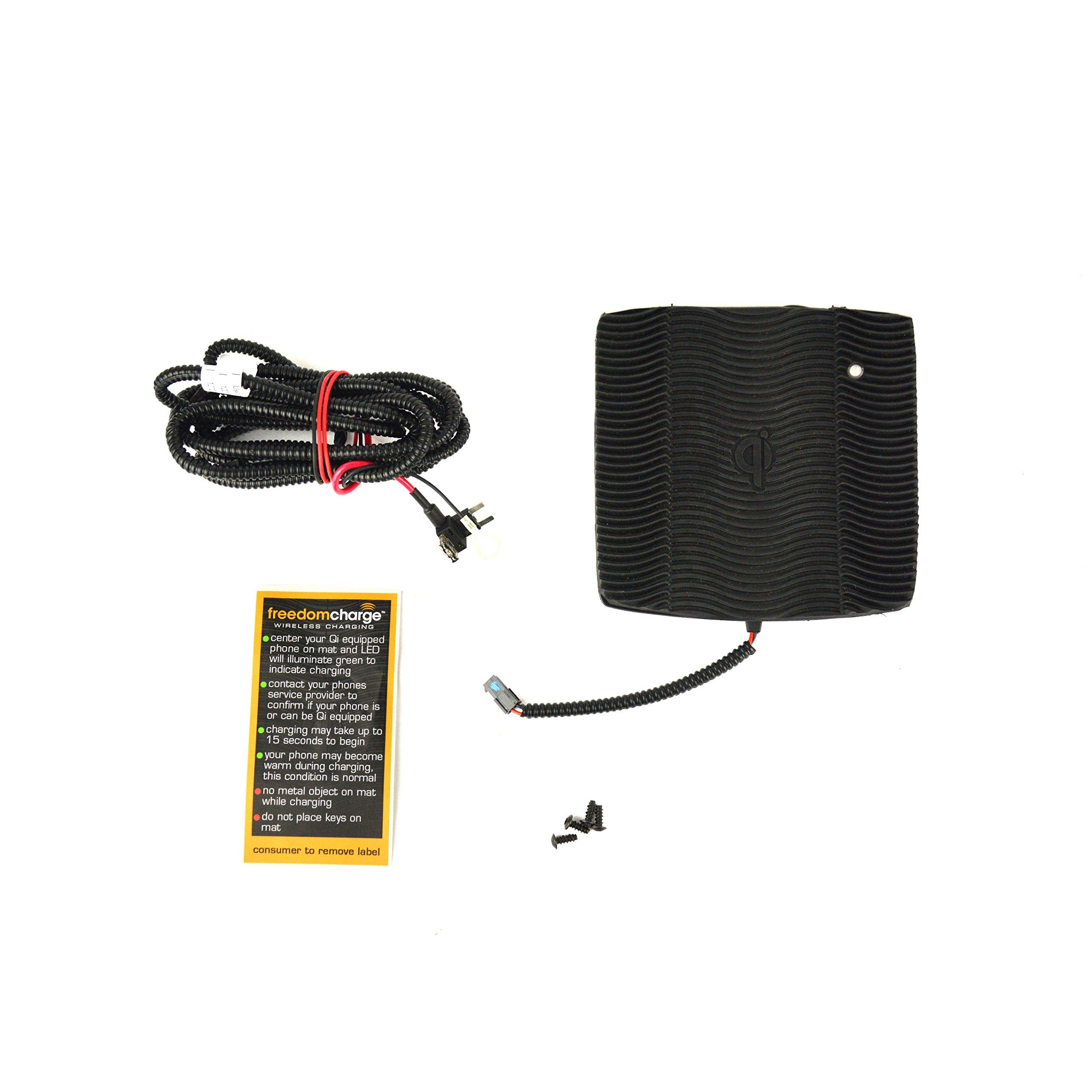 Brandmotion FDMC-1262 Jeep Wrangler Qi Wireless Charging Kit by Brandmotion