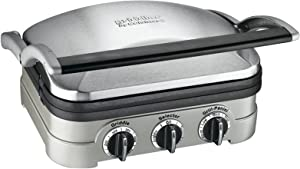 Cuisinart GR-4NP1 5-in-1 Griddler, 13.5