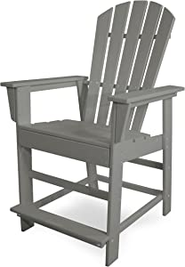 South Beach Counter Chair (Slate Grey)